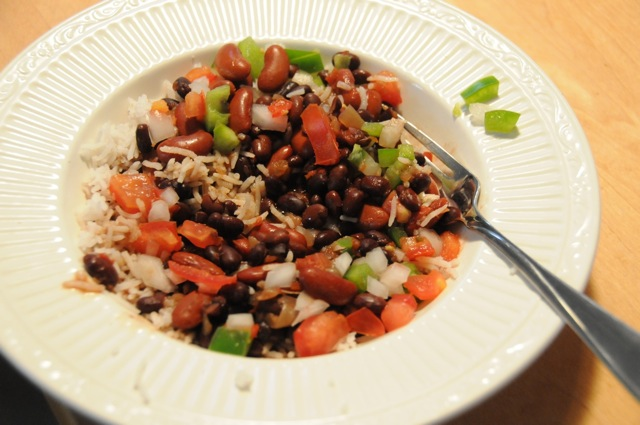 Cuban Rice And Beans Cuban red beans and rice